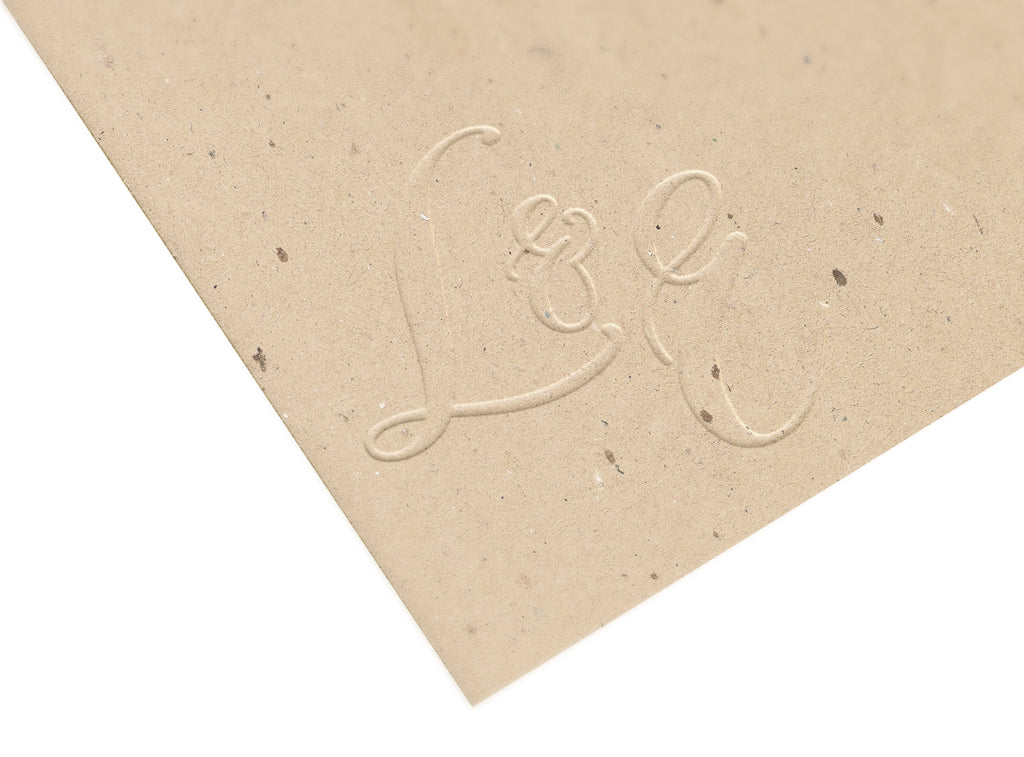 Copperplate Double Initials Embosser - Embosser - Backtozero