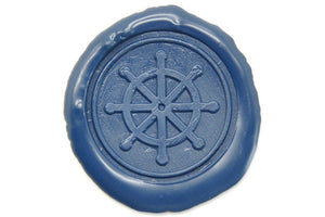 Boat Wheel Wax Seal Stamp - Wax Seal Stamp - Backtozero
