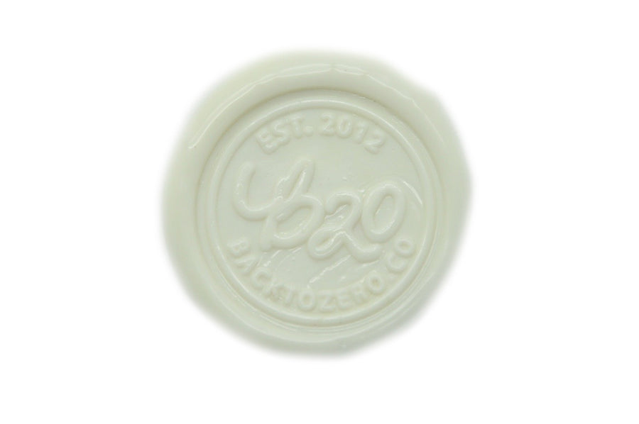 White Octagon Sealing Wax Beads - Sealing Wax - Backtozero