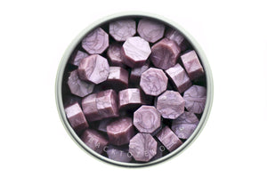 Wisteria Octagon Sealing Wax Beads - Sealing Wax - Backtozero