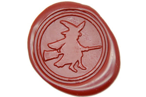 Witch Wax Seal Stamp - Wax Seal Stamp - Backtozero