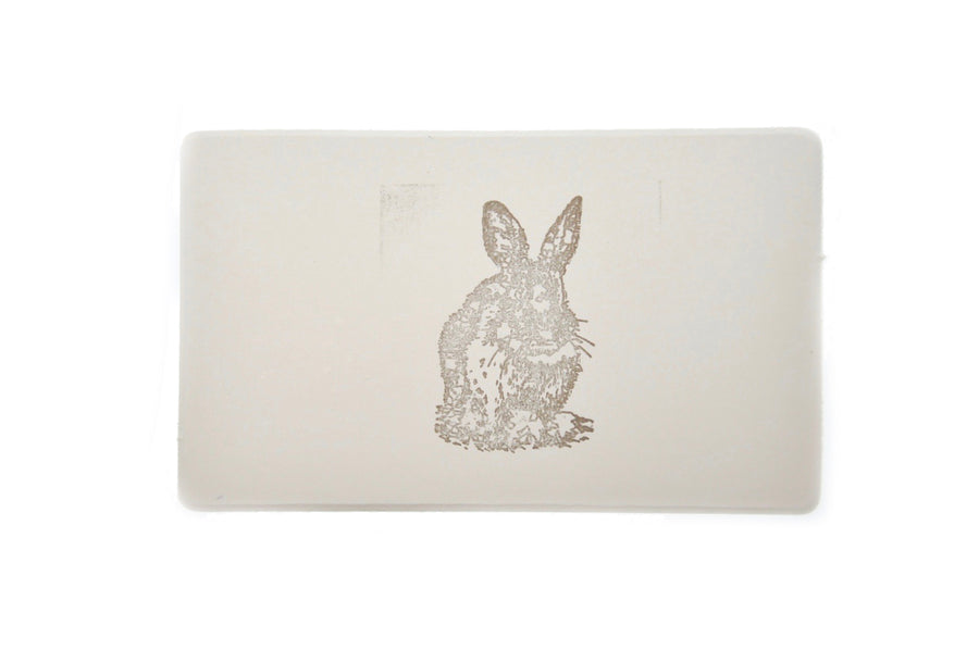 Woodland Rubber Stamp | Rabbit