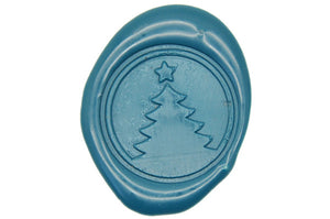 Christmas Tree Wax Seal Stamp - Wax Seal Stamp - Backtozero
