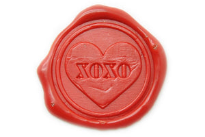 Xoxo Wax Seal Stamp - Wax Seal Stamp - Backtozero
