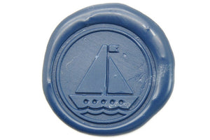 Boat Wax Seal Stamp - Wax Seal Stamp - Backtozero
