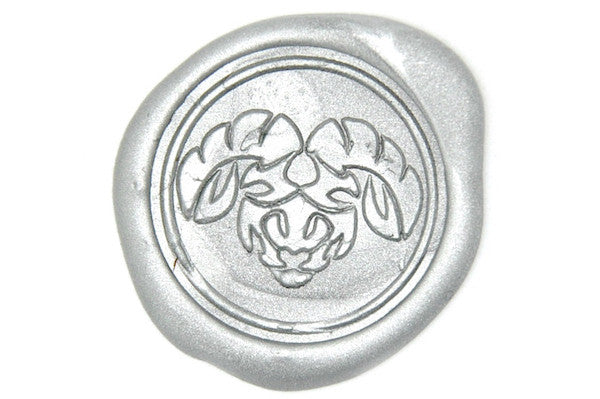 Zodiac Aries The Ram Wax Seal Stamp Backtozero