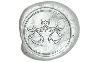 Zodiac Libra the Scales Wax Seal Stamp - Wax Seal Stamp - Backtozero