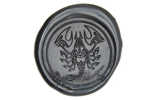 Zodiac Scorpio the Scorpion Wax Seal Stamp - Wax Seal Stamp - Backtozero