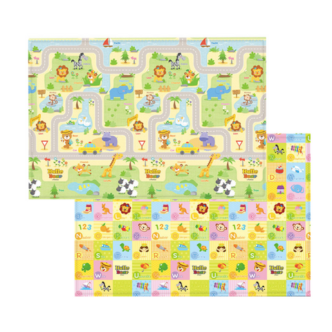 Parklon PURE Play Mat Size L (210) - Hello Bear Smile Town