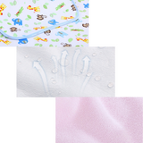 PREORDER ETA 1-15 Jun 2020 - Cot Size Waterproof Mattress Protector /  Diaper Changing Mat (70 x 118cm)