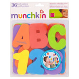 Munchkin Bath Letters and Number