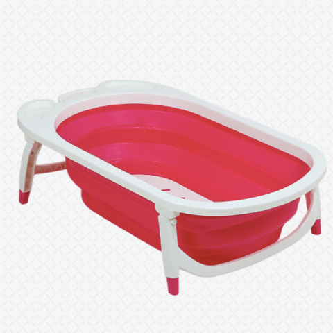 Foldable Bath Tub - Pink