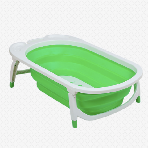 Foldable Bath Tub - Green