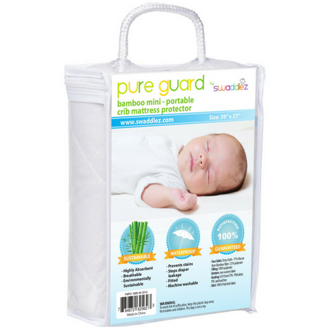 Pure Guard Pack n Play Bamboo Mattress Protector