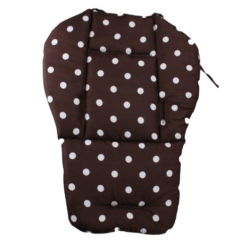 Baby Stroller Pad - Brown
