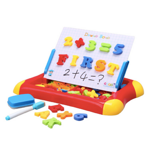 First Classroom Educational Learning Board - Red