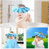 Baby Bath Head Cover - Blue