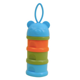 Baby Milk Powder Dispenser/Snack Container - Bear (Blue)