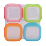 Baby Food Storage Container Set 4pcs Set