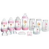 MAM Easy Start Self-Sterilising Anti-Colic Bottle Set - Pink