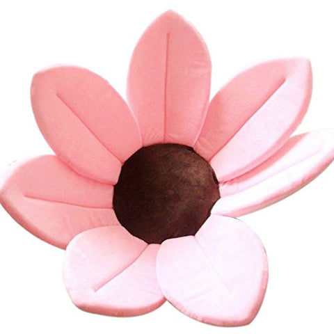 Flower Cushion Bath Support - Light Pink