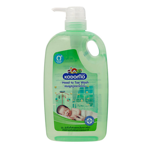 Kodomo Head To Toe Wash 800ml - Thailand Version