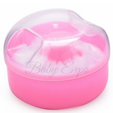 Baby Body Powder Puff Container