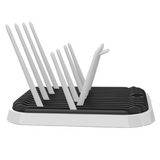 Milk Bottle Drying Rack (Sweet Baby) - Black/White