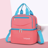 V-Coool Double Layer Cooler Bag (3388) - Peach