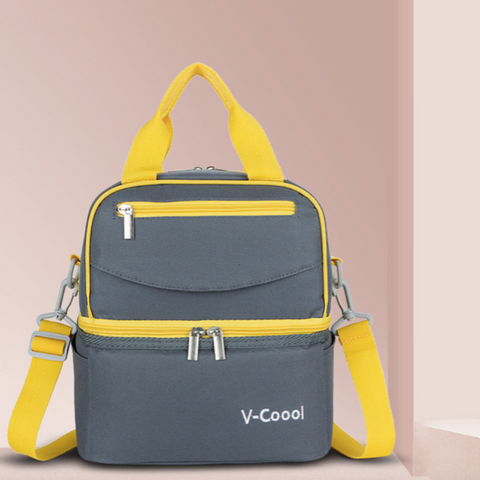 V-Coool Double Layer Cooler Bag (3388) - Grey
