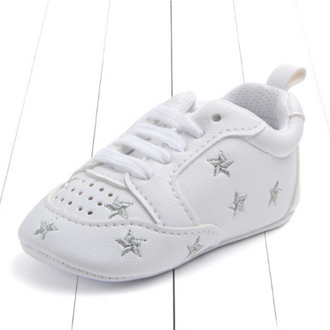 Pre-walker Shoes - Silver Star