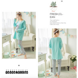 Maternity Nursing Long Sleeve PJ Set - PL001