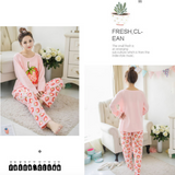 Maternity Nursing Long Sleeve PJ Set - PL002
