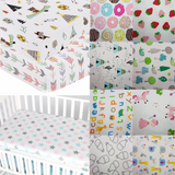 Cheery Baby Fitted Mattress Sheet - Premium Cotton