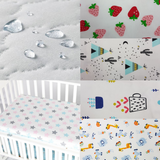 Cheery Baby Fitted Mattress Sheet - Waterproof