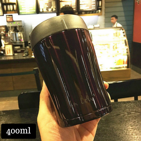 Thermal Cup 400ml - Dark Purple