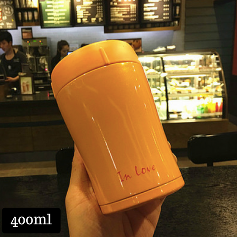 Thermal Cup 400ml - Orange