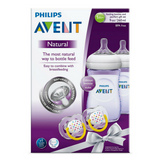 Philips Avent Baby Bottle Gift Set - Purple (2 Bottles)