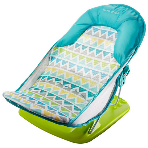 Summer Infant Deluxe Baby Bather - Triangle Stripe