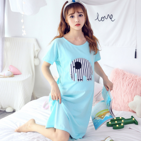 Maternity Nursing PJ Dress - PD001