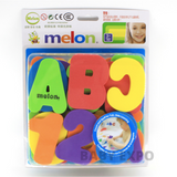 Baby Bath Letters and Number