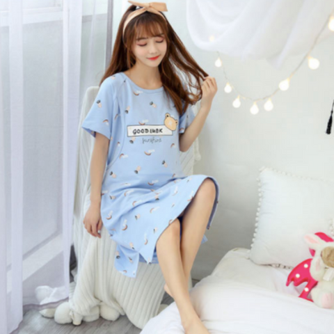 Maternity Nursing PJ Dress - PD009