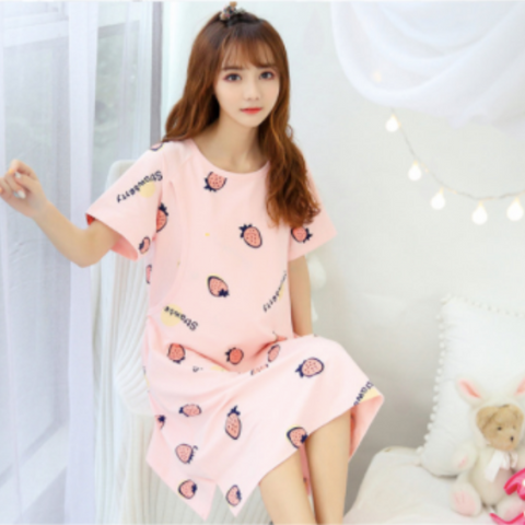 Maternity Nursing PJ Dress - PD011