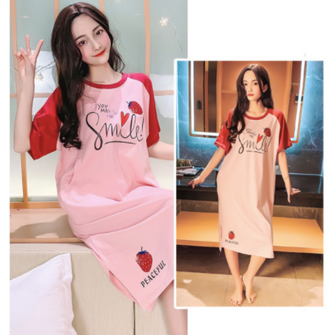 Maternity Nursing PJ Dress - PD012