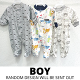 Baby Footed Jumpsuit - 3PC Bundle Deal
