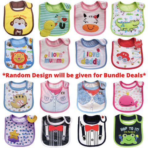 Baby Bib - 4PC Bundle Deal