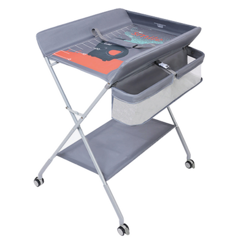 BabyBoat Diaper Changing Station - Grey