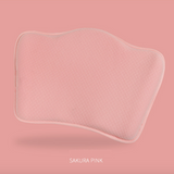 Baby Memory Foam Pillow (Moon Baby) - Pink