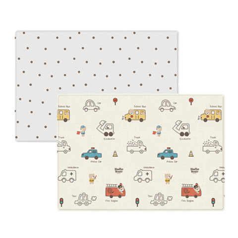 Parklon PURE Play Mat Size M (190) - Hello Bear Engines