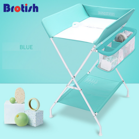 Diaper Changing Station - Blue